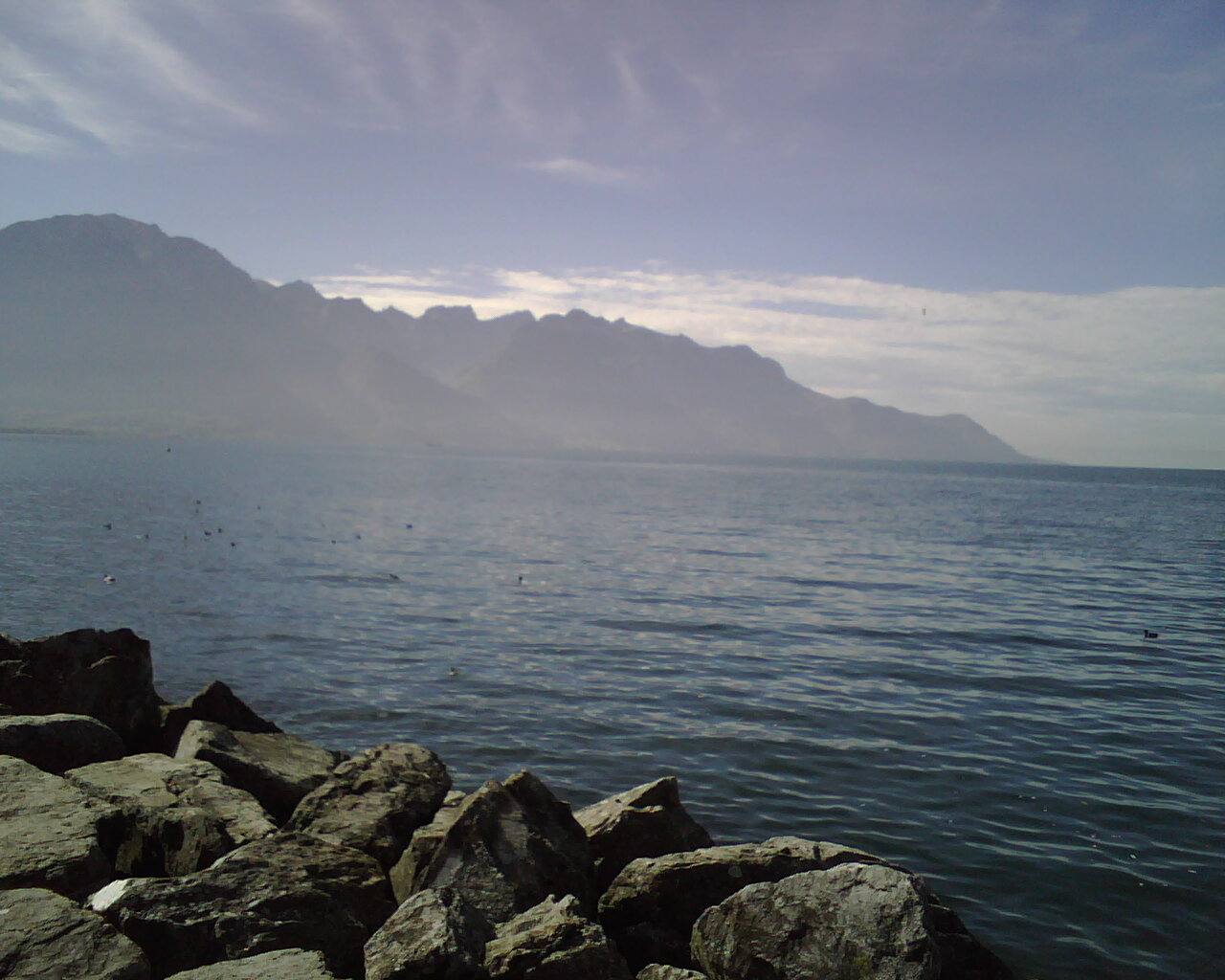 Lac Leman, Montreux, Switzerland