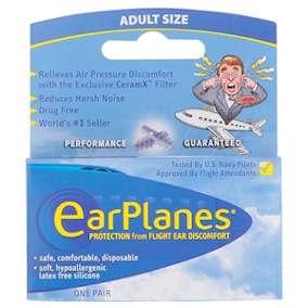 EarPlanes Flight Earplugs