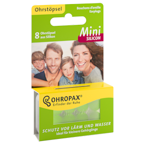 Ohropax MINI Silicone Earplugs